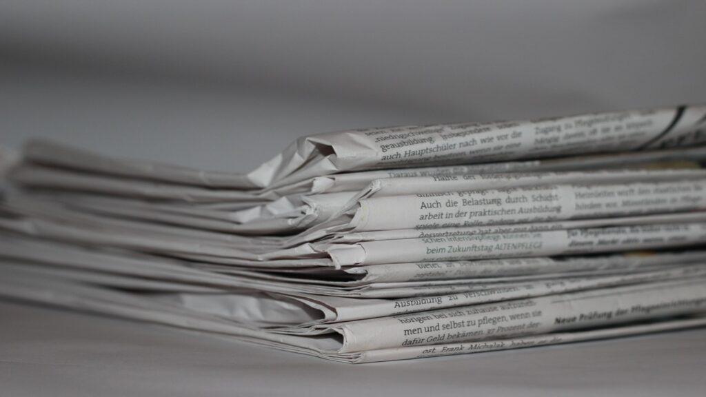 copie di giornali