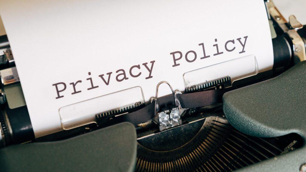 legge sulla privacy